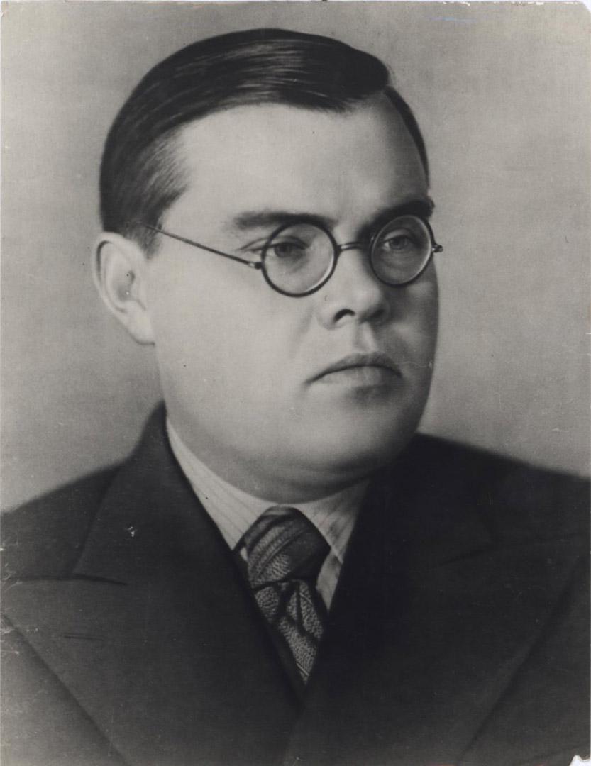 А.С. Щербаков. 1939 г.
